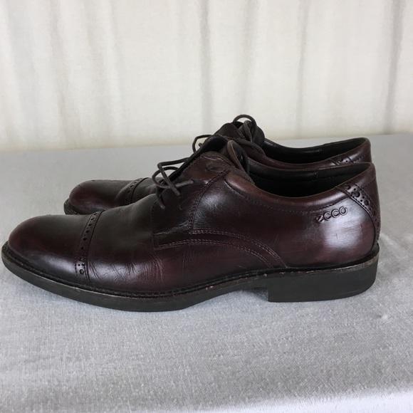 fc9970dd Ecco MENS Cap Toes Shoes Burgundy 43 9 9.5